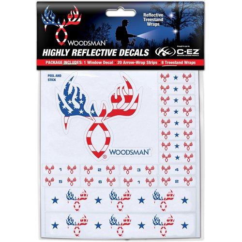 C-EZ Woodsman Highly Reflective Arrow and Treestand Wraps