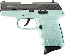 SCCY CPX-2 Carbon Robin Egg 9mm Luger Pistol