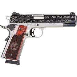 Sig Sauer 1911 Texas Engraved Two-Tone 45 ACP Full-Sized 8-Round Pistol