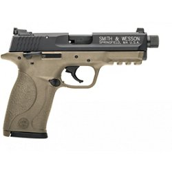 M&P22C FDE Cerakote Threaded 22 LR Compact 10-Round Pistol