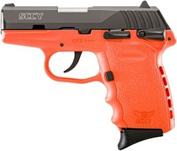 CPX-1 Carbon Orange 9mm Luger Pistol