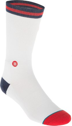 Stance Men's New Orleans Pelicans Casual Logo Crew Socks