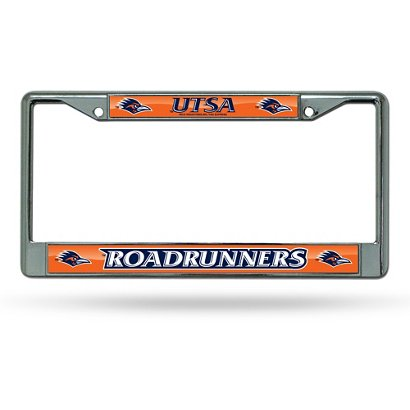 Rico University of Texas at San Antonio Chrome License Plate Frame ...