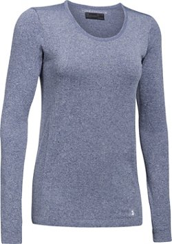 Under Armour Women's Threadborne Seamless Heather Long Sleeve Top
