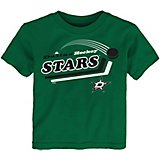adidas Toddlers' Dallas Stars Pucks Away Short Sleeve T-shirt