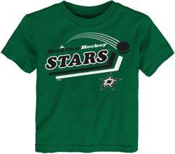 adidas Toddlers' Dallas Stars Pucks Away Short Sleeve T-shirt