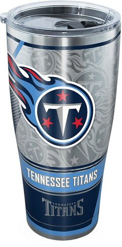Tennessee Titans 30 oz SIC All Over Stainless-Steel Tumbler