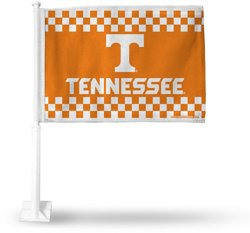 Rico University of Tennessee Checkerboard Car Flag