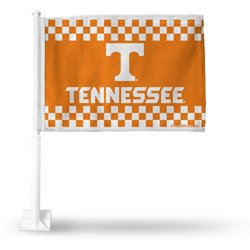 University of Tennessee Checkerboard Car Flag