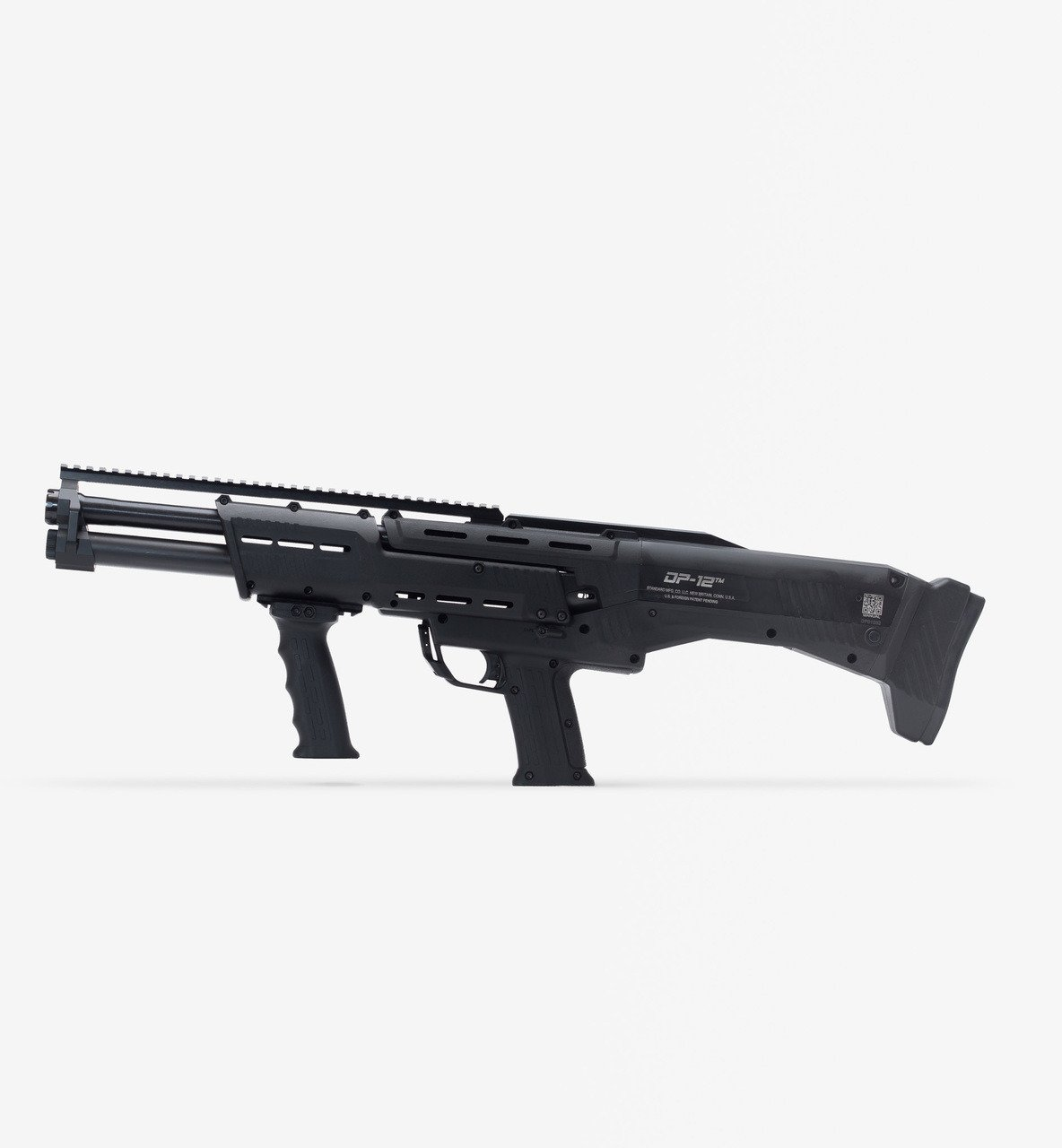 Standard Manufacturing DP-12 Double Barrel 12 Gauge Pump Action Shotgun - view number 1