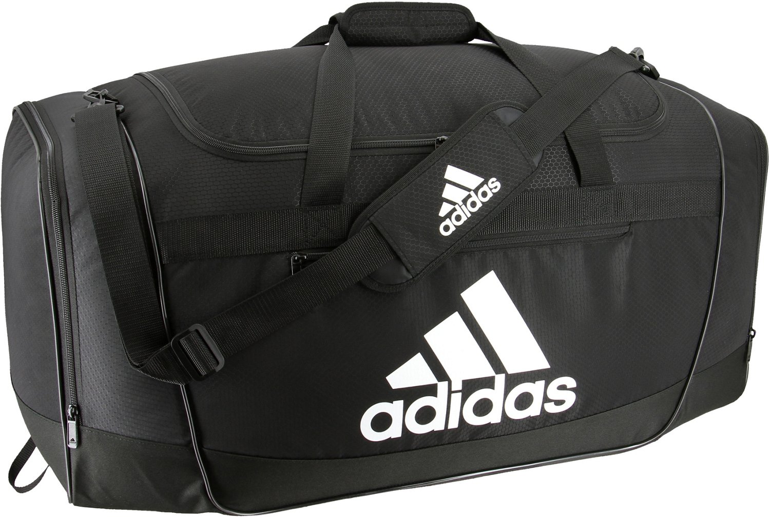 56fad3b1fc Display product reviews for adidas Defender II Large Duffel Bag