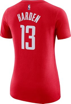 Nike Women's Houston Rockets James Harden 13 Name and Number T-shirt