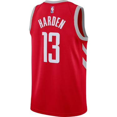 promo code 122ce f7809 ... Nike Men s Houston Rockets James Harden Icon Edition Swingman Jersey.  Rockets Clothing. Hover Click to enlarge
