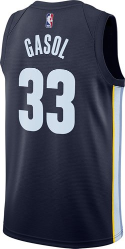 Nike Men's Memphis Grizzlies Marc Gasol Icon Edition Swingman Jersey