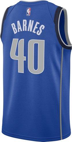 Nike Men's Dallas Mavericks Harrison Barnes Icon Edition Swingman Jersey
