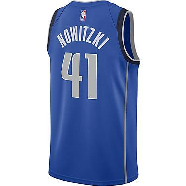 finest selection b0645 e59d4 Nike Men's Dallas Mavericks Dirk Nowitzki Icon Edition Swingman Jersey