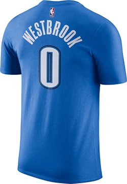 Nike Men's Oklahoma City Thunder Russell Westbrook 0 Name and Number T-shirt
