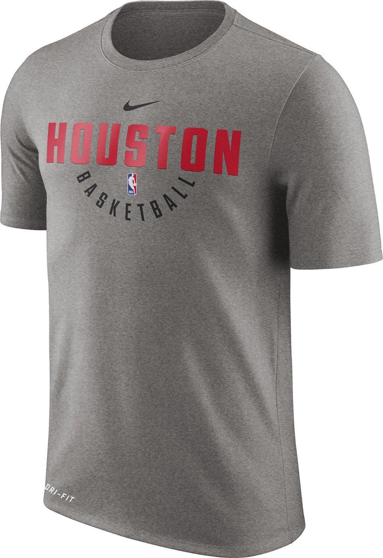 7b9cd087 Nike Men's Houston Rockets Dry Practice T-shirt | Academy