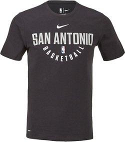 Nike Men's San Antonio Spurs Dry Practice T-shirt