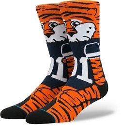 Stance Men's Auburn University Aubie Team Mascot Socks
