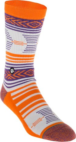 Stance Men's Clemson University Mazed Socks