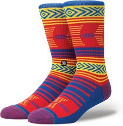 Stance Men's University of Kansas Mazed Socks