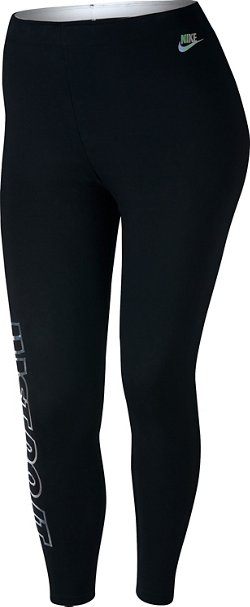 Women's Sportswear Metallic Club Plus Size Legging