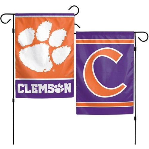 WinCraft Clemson University 2-Sided Garden Flag