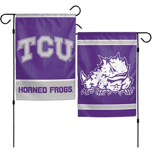 WinCraft Texas Christian University 2-Sided Garden Flag