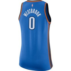 Women's Oklahoma City Thunder Russell Westbrook Icon Edition Swingman Jersey