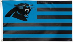 WinCraft Carolina Panthers Americana 3 ft x 5 ft Deluxe Flag