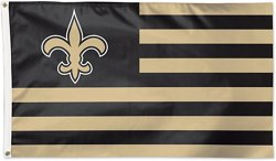 WinCraft New Orleans Saints 3 ft x 5 ft Deluxe Americana Flag