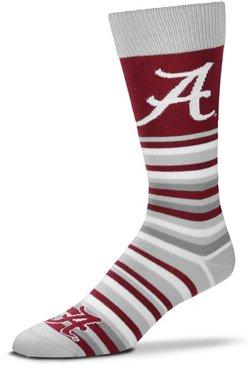 For Bare Feet University of Alabama Lotta Stripe Thin Knee High Dress Socks