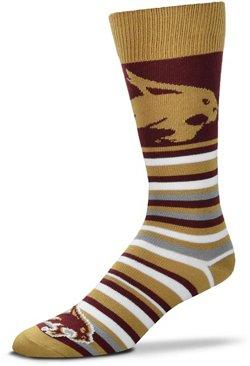 For Bare Feet Texas State University Lotta Stripe Dress Socks
