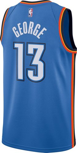 Nike Men's Oklahoma City Thunder Paul George 13 Swingman Jersey