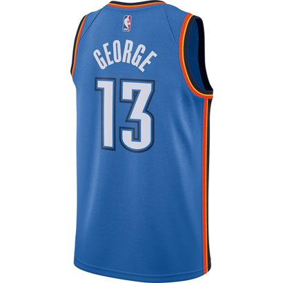 cf87e315b8b ... Nike Men's Oklahoma City Thunder Paul George 13 Swingman Jersey. Oklahoma  City Thunder Clothing. Hover/Click to enlarge