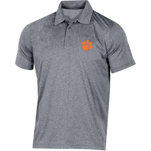 Champion Men's Clemson University Heather Polo Shirt