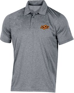Champion Men's Oklahoma State University Heather Polo Shirt