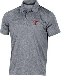 Champion Men's Texas Tech University Heather Polo Shirt