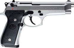 Beretta 92 FS Italy Inox 9mm Luger Pistol