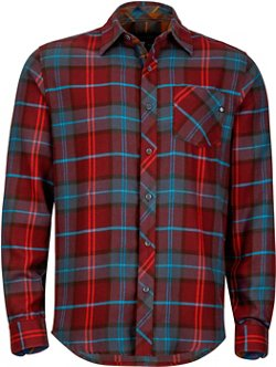 Men's Anderson Long Sleeve Flannel Shirt