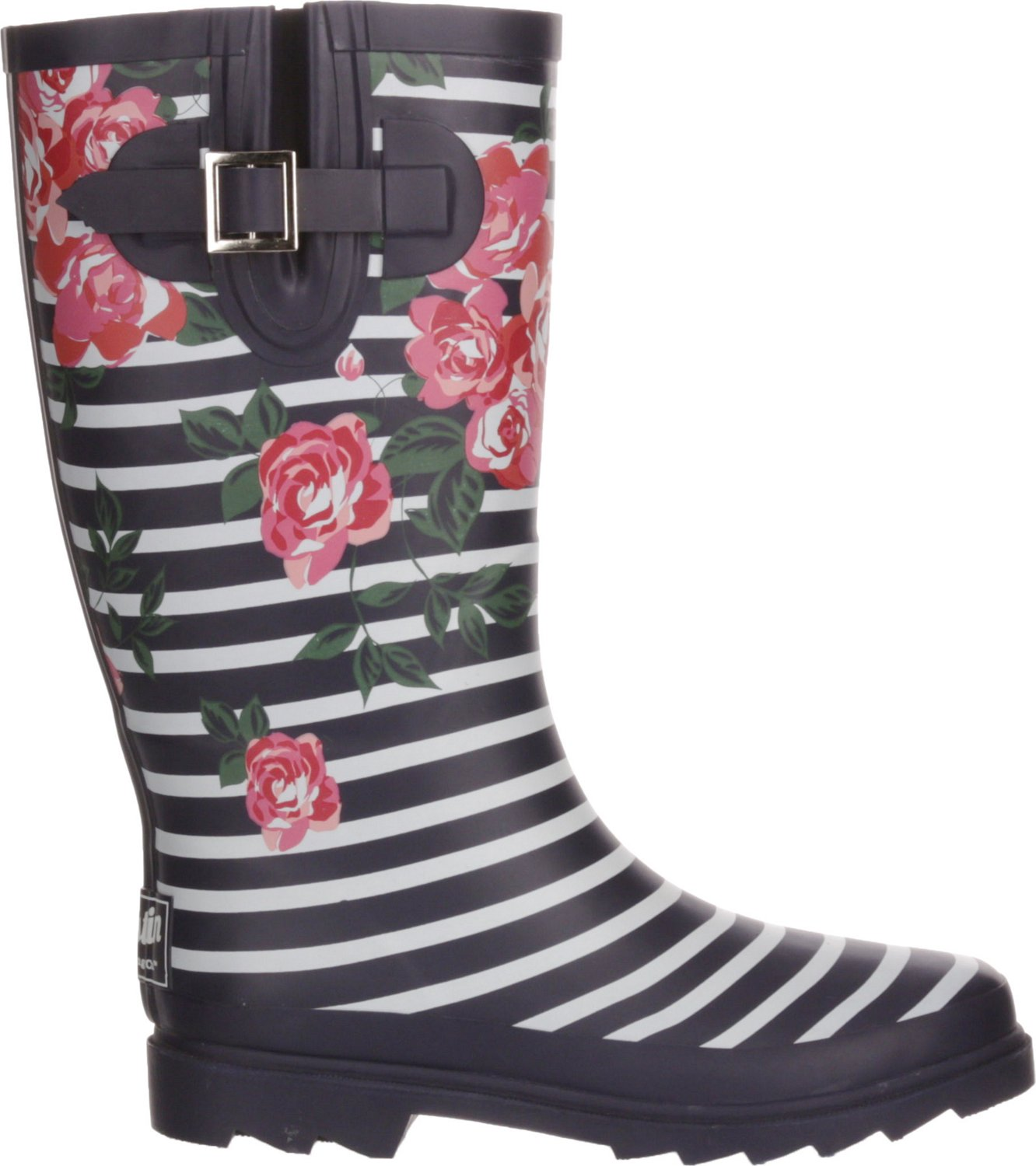 ee98c7b26e0a Display product reviews for Austin Trading Co. Women s Floral Stripe Rubber  Boots