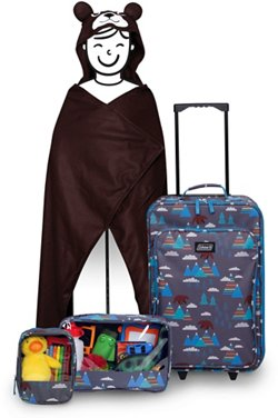 Coleman Kids' 4-Piece Bear Travel Set