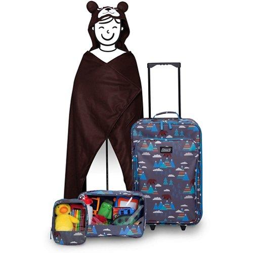 Coleman Kids' 4-Piece Bear Travel Set