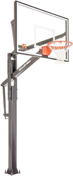 FT Series 60 in Inground Tempered Glass Basketball Hoop