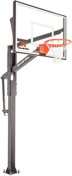FT Series 54 in Inground Tempered Glass Basketball Hoop