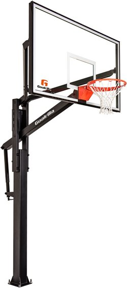 Goalrilla FT Series 72 in Inground Tempered Glass Basketball Hoop