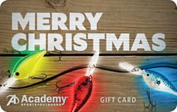 Holiday Fishing Academy Gift Card