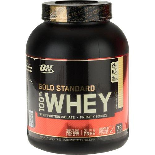 Optimum Nutrition Gold Standard 100 Percent Whey Protein Powder