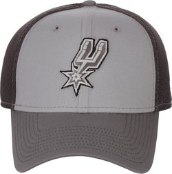 New Era Men's San Antonio Spurs Grayed Out 39THIRTY Neo Cap